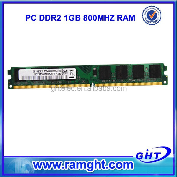 Enjoy lifetime warranty 64mb*8/16c laptop ddr 2 ram 1 gb