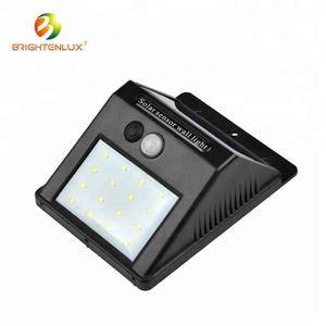 Hot sale High quality outdoor waterproof Led Solar Motion wall light sensor
