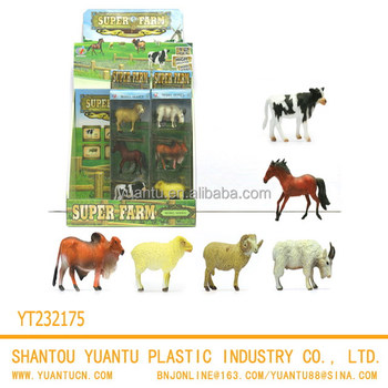 Wild Animal Clay Model Toys Realistic Zoo Animals Plastic Toy For