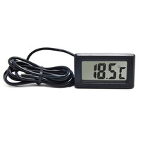 RINGDER PT-2 Digital Panel Mini LCD Thermometer Temperature Meter with Probe Price