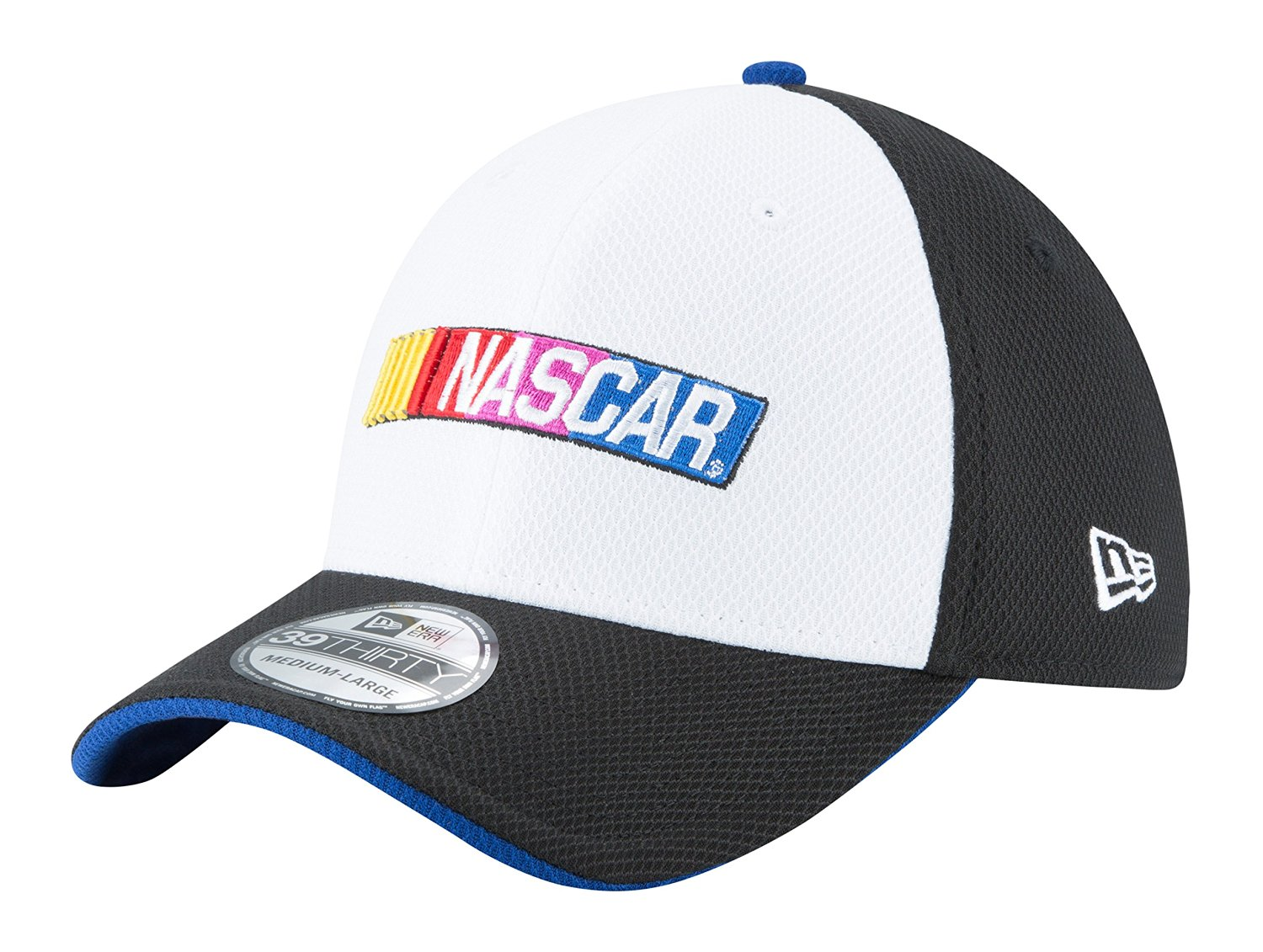 8e21587701e Get Quotations · NASCAR 2016 39THIRTY Stretch Fit Drivers Cap
