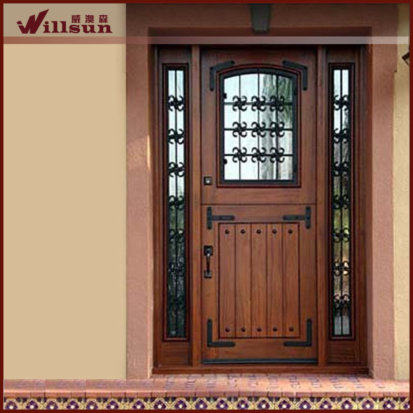 de hierro forjado de vidrio insertar utiliza las puertas