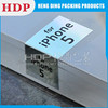 OEM clear plastic packaging box for cell phone accessories