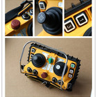 Factory Price Telecontrol F24-60 5 speed dual Joystick industrial radio remote control for crane
