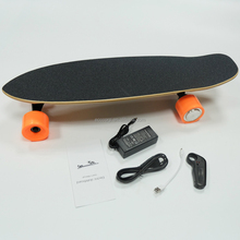 Wholesale Black Mini Four Wheels Boosted Electric Skateboard Custom Motorized Skateboard