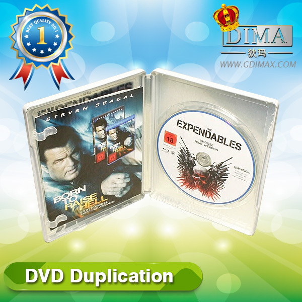 DVD duplication with custom disc service