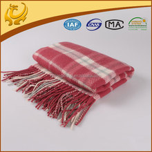 custom made real material classic wool blanket