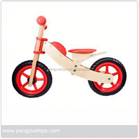 Baby Wood Bicycle , Cute Children Balance Bike , Wooden Sport Bike