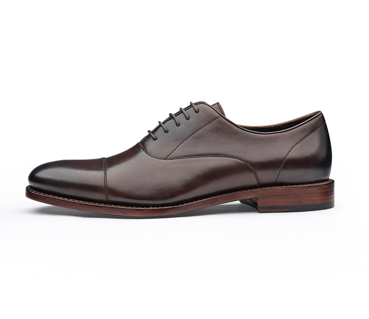 made custom shoes Goodyear hand oxford brogue man shoe leather Italy dress shoes men dwIEEqO