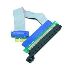 ChenYang PCI-E Express 1x to 16x Extension Flex Cable Extender Converter Riser Card Adapter 20cm
