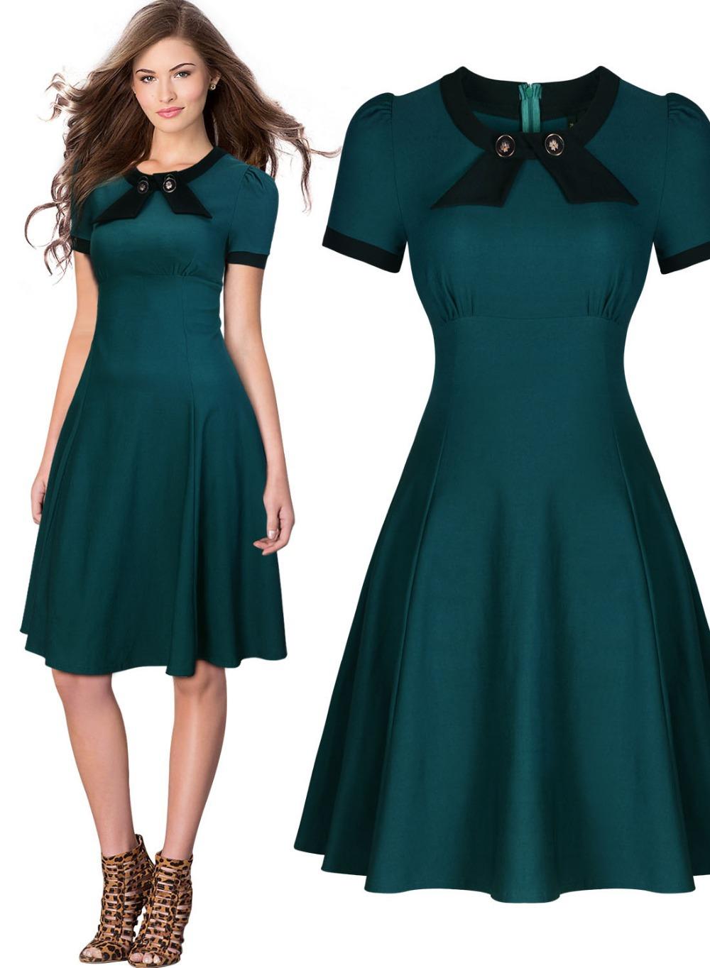 Ladies Vintage Dress 62