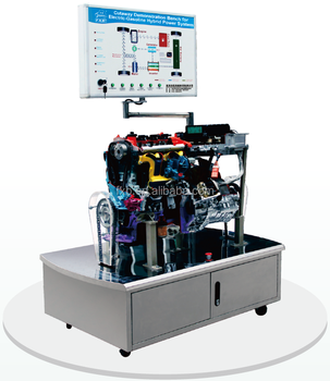 Cutaway Gasoline Electric Hybrid Engine System Educational Equipment For School And Training Center