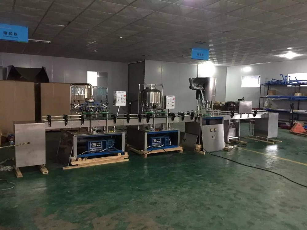 500ml-1.5L smalll bottle mineral water production line/ RO pure water filling line/small bottles drinking water production line