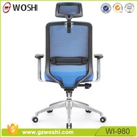 Mesh Ergonomic High Back Swivel Managerial boss Executive Office Chair With Headrest