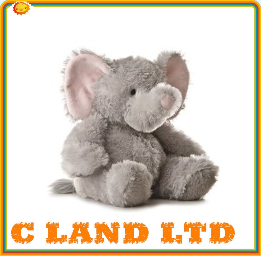 Plush Elephant Toy Meets CE Standard