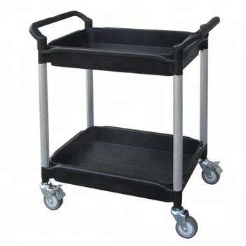 Tub Shelf Cart 2 Shelves W/two Attached Handles - Buy Deep Tray Cart ...