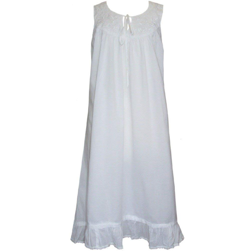 d356e94950 Get Quotations · Powell Craft Womens  Pure Cotton Nightdress Nightgown. Nora.  US Size 12-