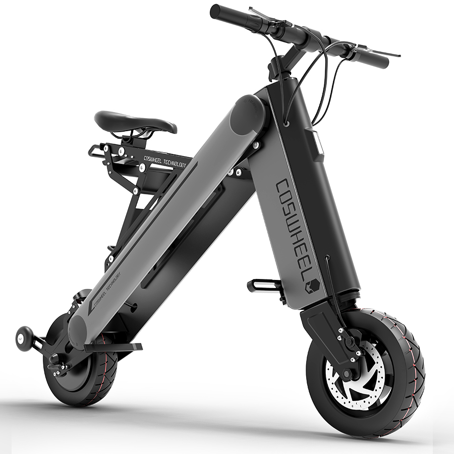 Alibaba.com / Coswheel Folding Bicycle_Bike, 350W 30-50km/h 8.7Ah Brushless Scooter Electrico, 10inch Freedom Scooter