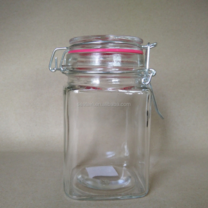 Mini Clamp Top Glass Spice Jar for Wholesale