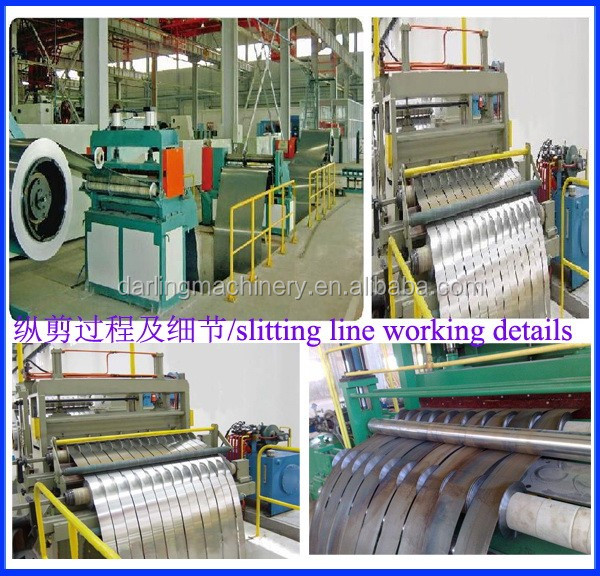 steel core Silicon steel sheet Transformer Core Automatic cnc slitting line, steel slitting machine