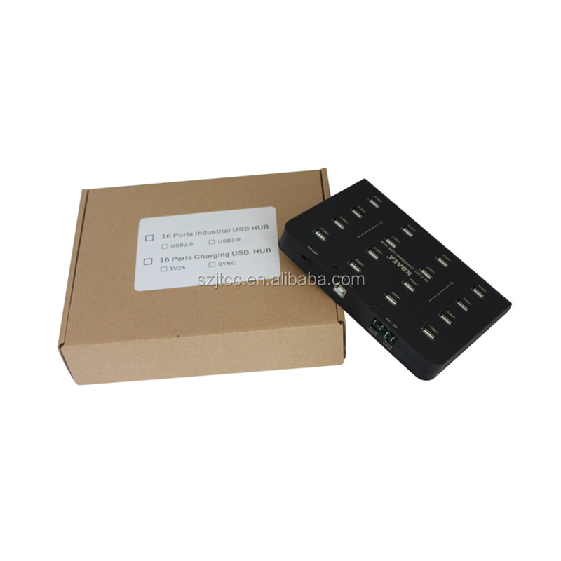 16 Port USB HUB voor iPad Mobiele Charge Box USB Copier Station