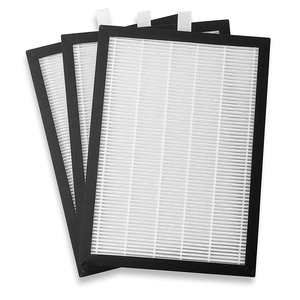 JS-G7066 Air Filter for Meaco 20 Litre Low Energy Dehumidifier, White/Black