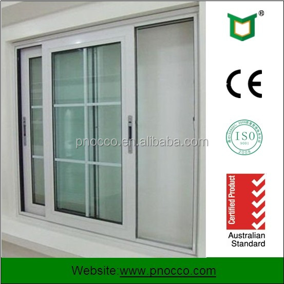 Aluminum Door And Window/Aluminum Sliding Windows/Window Grills Design Picture for Sale