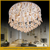 modern led chandelier/large crystal chandeliers for hotel/luxurious crystal chandelier