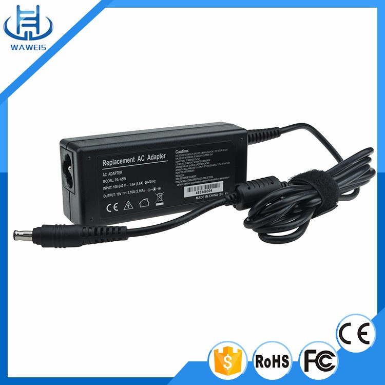 Laptop or notebook charger 19V 3.16A 60w 5.5*3.0mm for Samsung