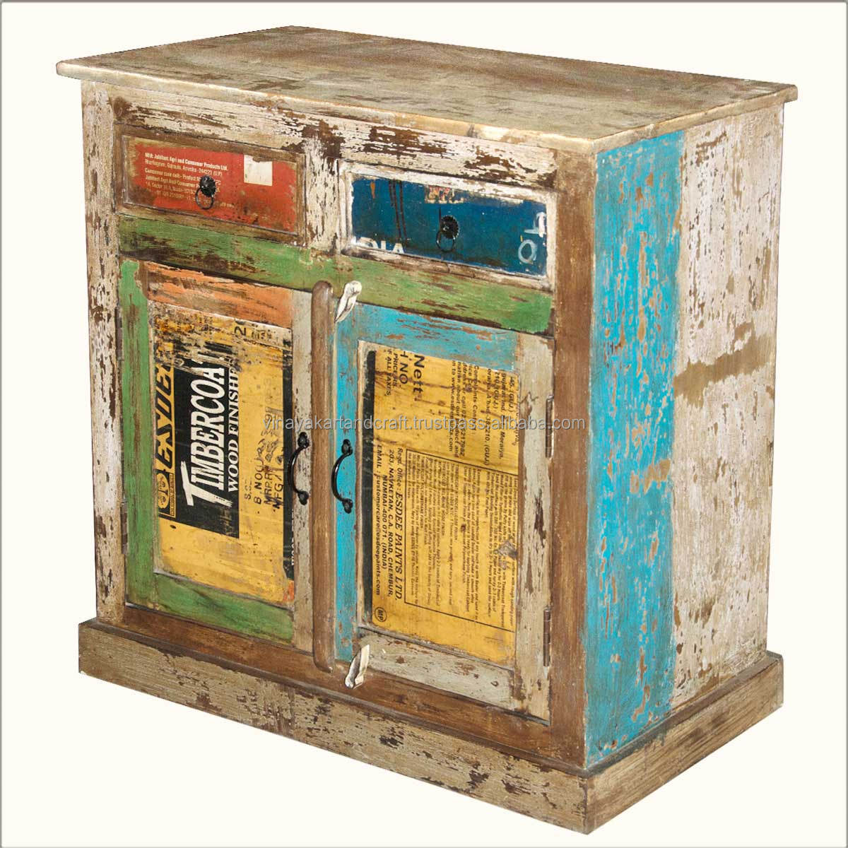 Vintage Reclaim Rustic Colorful Living
