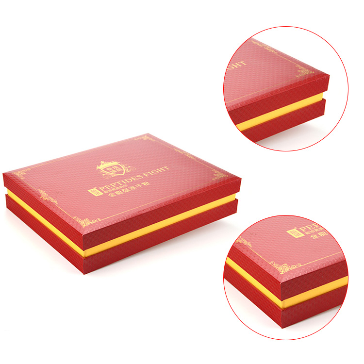 High quality eco-friendly and luxury gift box packaging from China