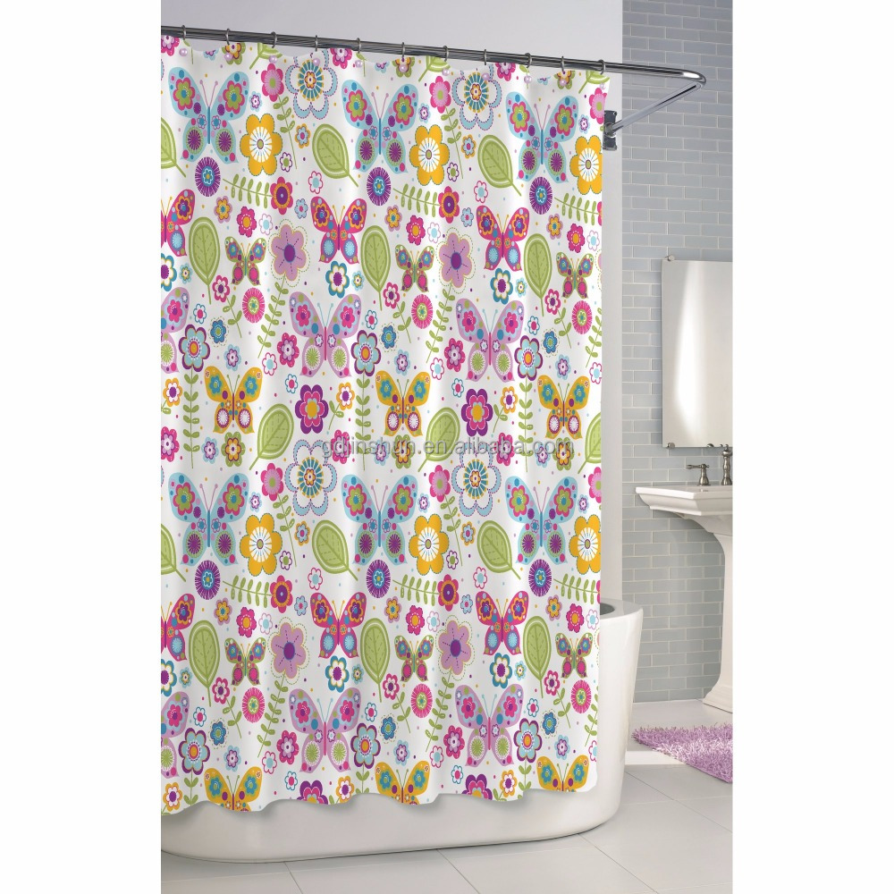 Bathroom waterproof polyester fabric shower curtain lazada malaysia - Shower Curtain With Matching Window Curtain Shower Curtain With Matching Window Curtain Suppliers And Manufacturers At Alibaba Com