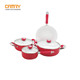 Aluminum ceramic cookware set dessini