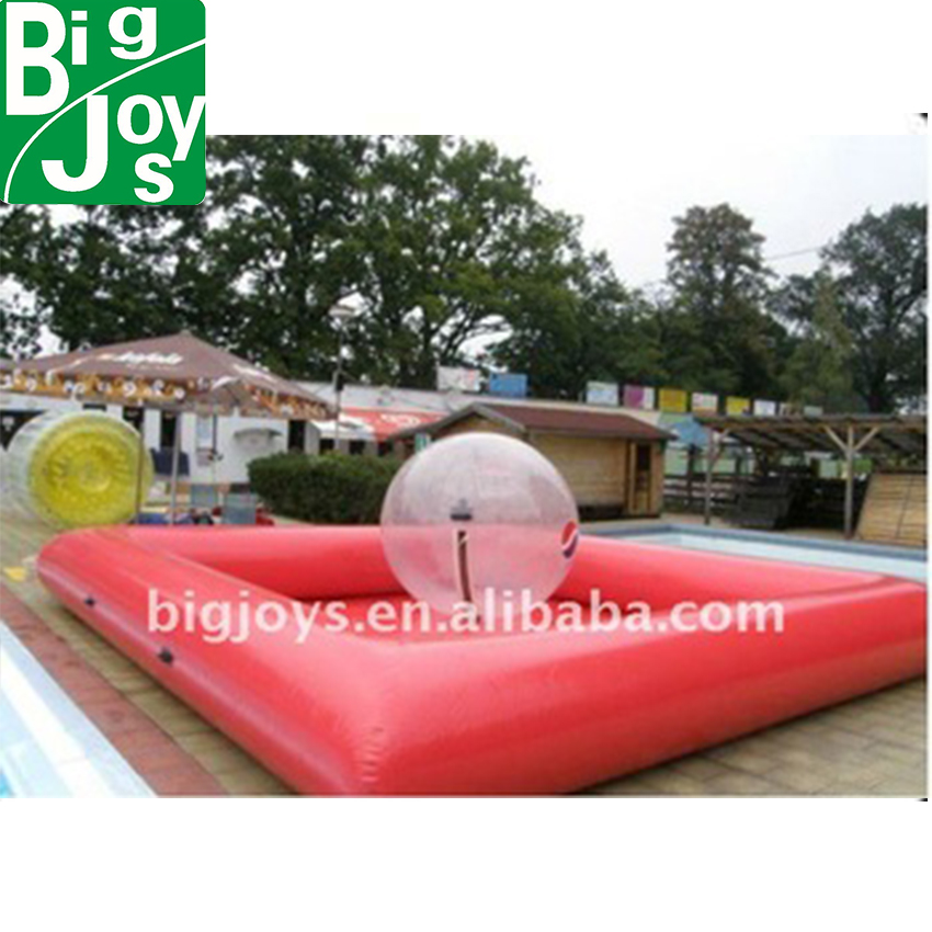 Inflatable ball pool for water balls