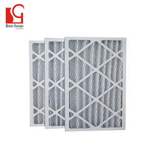New stylish paper filter frame pleats 24x24 hvac new air conditional filters