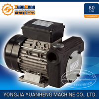 New motor driven big flow AC self-priming diesel oil transfer pump