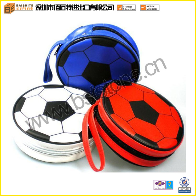 Shiny Football Cute CD Case With Handle