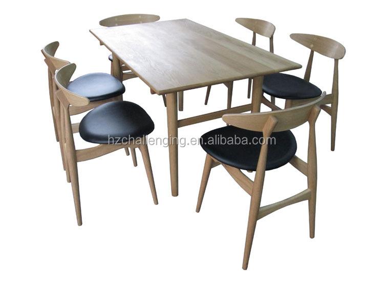 t015 longue et troite en bois table manger con oit morden table manger table en bois id de. Black Bedroom Furniture Sets. Home Design Ideas
