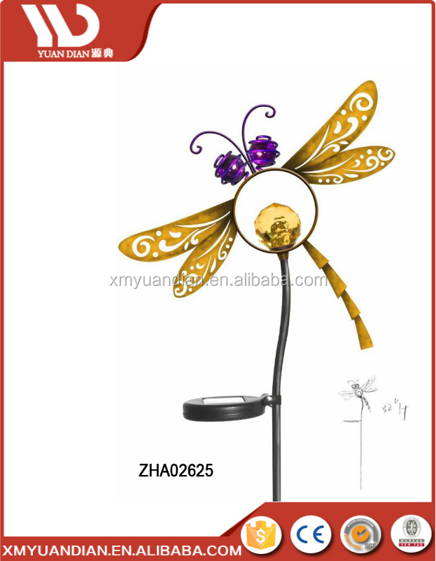 China Solar Companies Streelight Dragonfly Design Solar Led Bulb