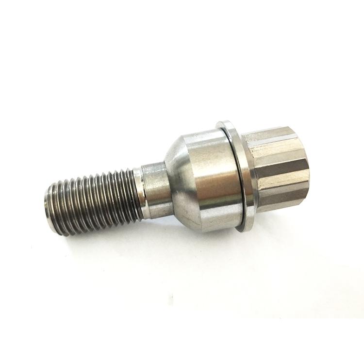 M12x1 25 Rims Bolts,12 Points Titanium Flange Bolts For Automobile - Buy  Titanium 12 Point Bolts,Titanium Flange Bolt,M12x1 25 Rims Bolts Product on