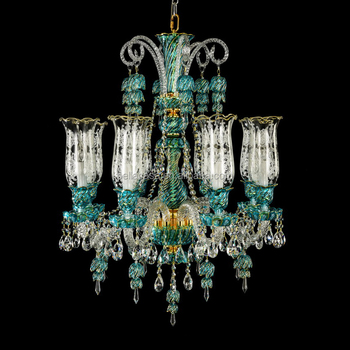 crystal chandelier accessories with blown galss