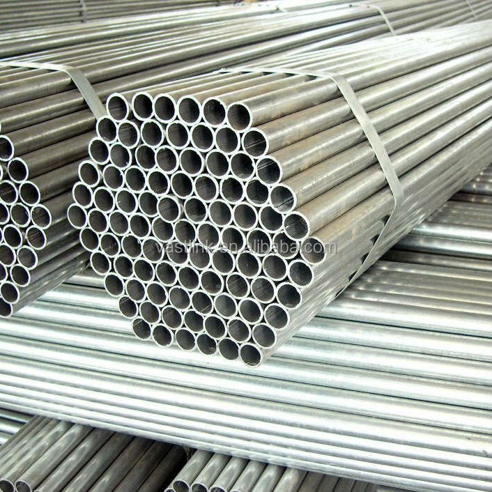 galvanized ERW carbon welded pipes for household articles