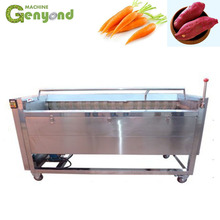 Custom logo rubber conveyor belt round vegetable sort machine fruit sorting For Certificates