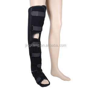 High quality Walker boot ankle support knee foot brace Orthopedic leg support for fracture rehabilitation