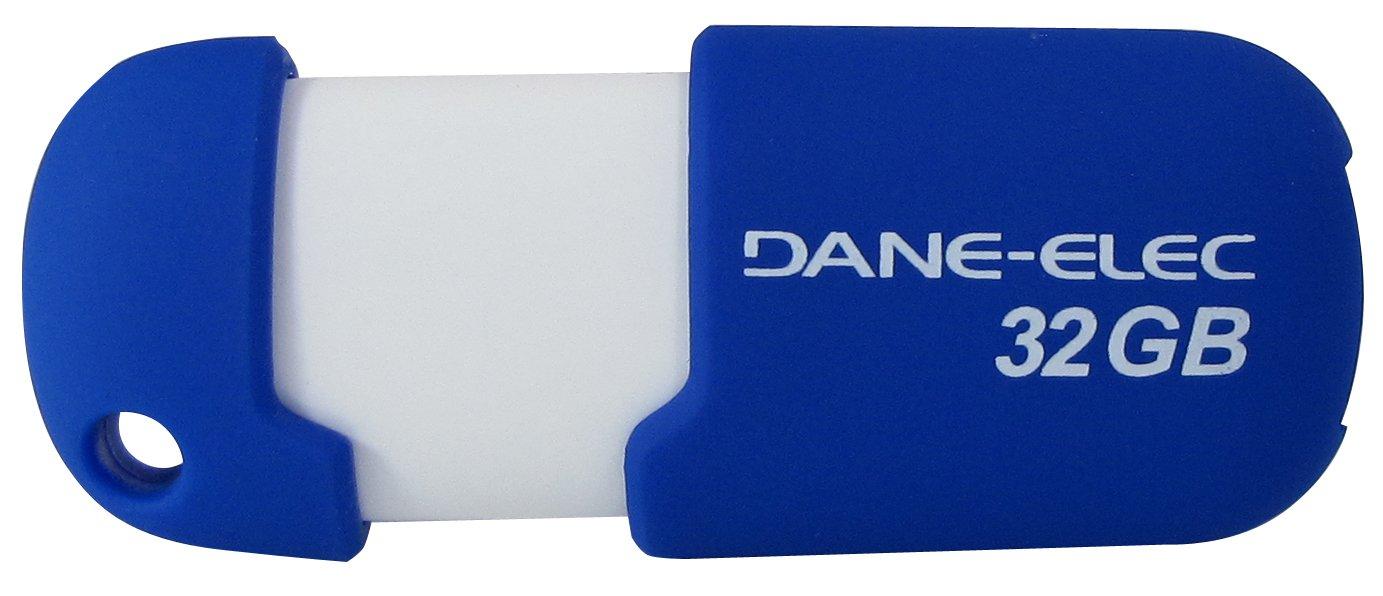 Dane-Elec 2.0 USB 32 GB Pen Drive Aqua Capless DA-ZMP-32G-CA-A1-R