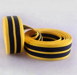 Knitting Printed Elastic Webbing Tape for Sewing, decorative double Elastic Band