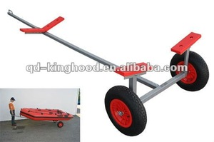 Inflatable trolley wheel,dolly wheel,launnching wheel