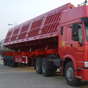 side tipper /side tipping semi trailer