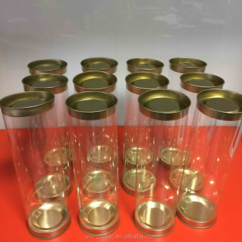 Plastic Cylinder Food Tube Tinplate Lids Clear Tube Packaging Plastic Clear Tube For Candy Buy Clear Tube Packaging Plastic Clear Plastic Tube Container Tube Packaging For Food Product On Alibaba Com