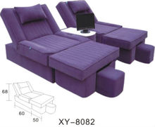 Massage sofa/foot massage sofa chair/vibration massage sofa for beauty salon